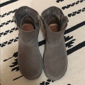 UGG perforated unlined mini's